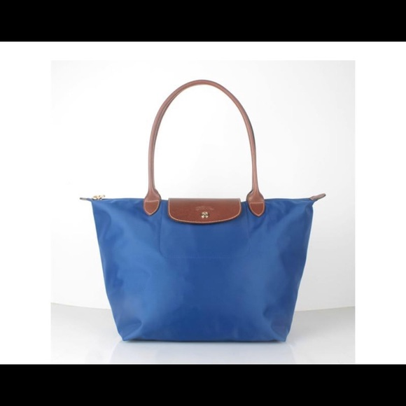 1fb0233e12990 Longchamp Handbags - Longchamp Le Pliage Large Tote Indigo New